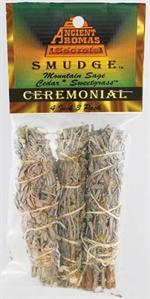 Ancient Aromas - Packaged Smudge Sticks - Baby Size